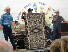 Crownpoint Rug Auction